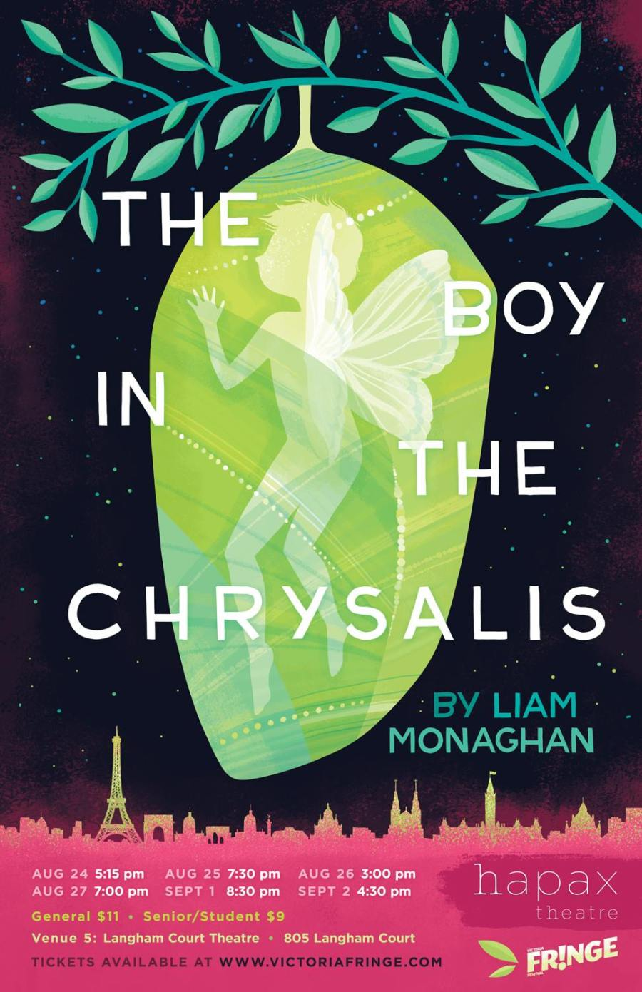 The Boy In The Chryalis Poster