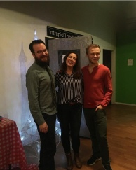 The team behind the event (From left to right: Chad Laidlaw, Heather Jarvie, Vaughn Naylor)