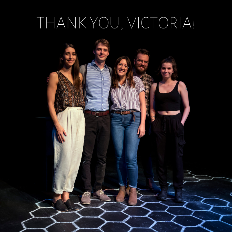 Thank you, Victoria!
